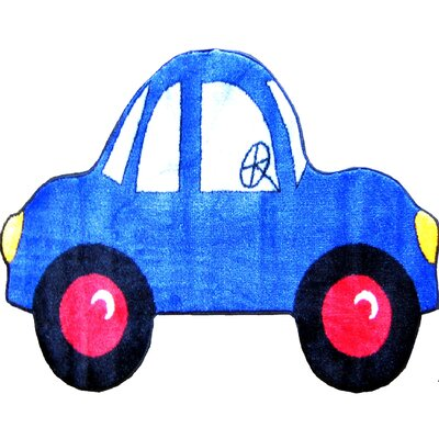 Fun Shape High Pile Car Area Rug Rug Size: Car 27 x 311