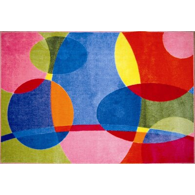 Supreme Groovy Dots Area Rug Rug Size: 33 x 410