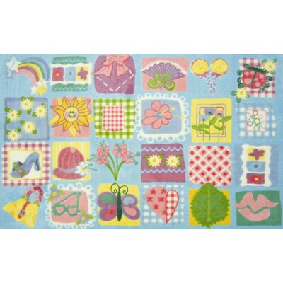 Supreme Funky Patchwork Girls Area Rug Rug Size: 33 x 410