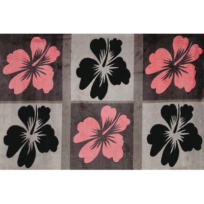 Supreme Hula Calm Flower Area Rug Rug Size: 33 x 410