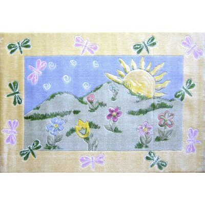 Jade Reynolds Dragonfly Morning Kids Rug Rug Size: Rectangle 33 x 410