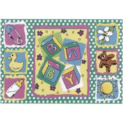Jade Reynolds Building Blocks Baby Kids Rug Rug Size: 33 x 410