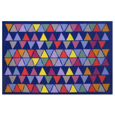 Fun Time Pyramid Party Area Rug Rug Size: 17 x 25