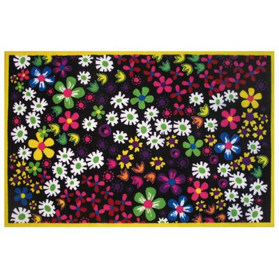 Fun Time Floral Area Rug