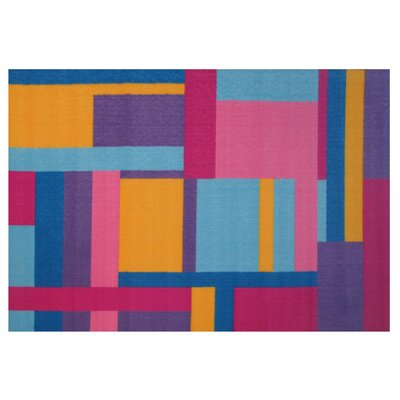 Fun Time Tetris Area Rug Rug Size: 17 x 25