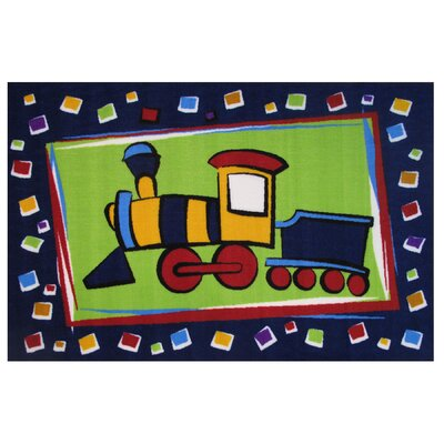Fun Time Choo Choo Train Area Rug