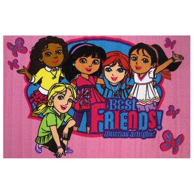 Dora Best Friends Area Rug Rug Size: 425 x 625