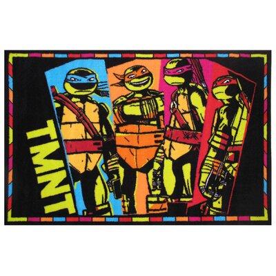 Ninja Turtles TMNT Area Rug Rug Size: 33 x 410