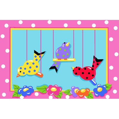 Jade Reynolds Swing in Chicks Kids Rug Rug Size: 33 x 410