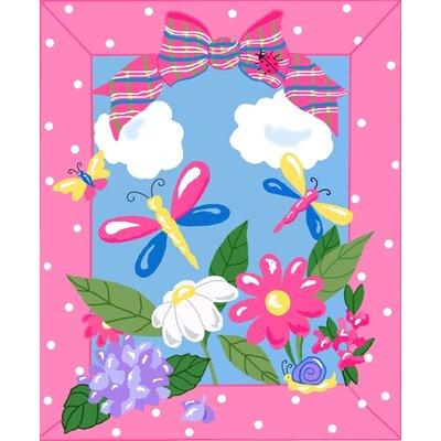 Jade Reynolds Spring Time Kids Rug Rug Size: 33 x 410