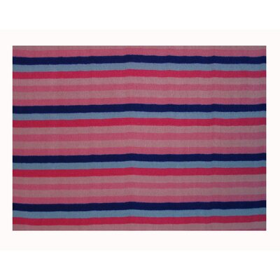 Fun Time Blooming Pink Kids Rug Rug Size: 17 x 25