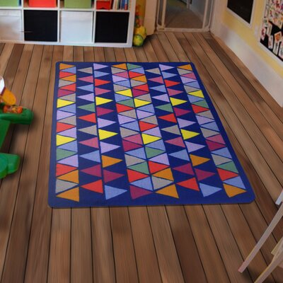 Fun Time Pyramid Party Area Rug Rug Size: 33 x 410
