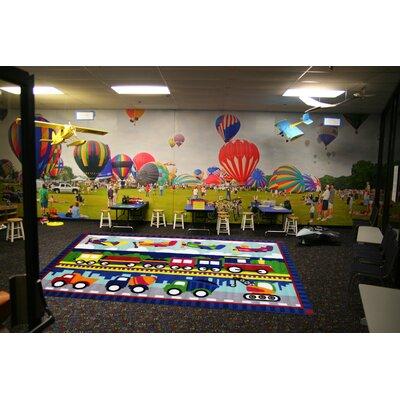 Fun Time Tran America Area Rug Rug Size: 43 x 66