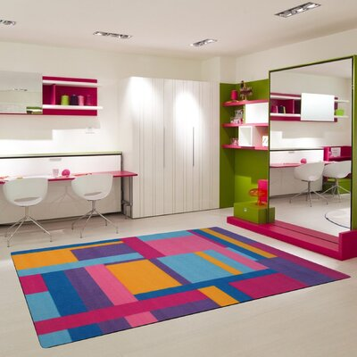 Fun Time Tetris Area Rug Rug Size: 33 x 410