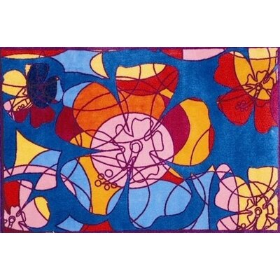 Supreme Retroactive Flower Area Rug Rug Size: 33 x 410