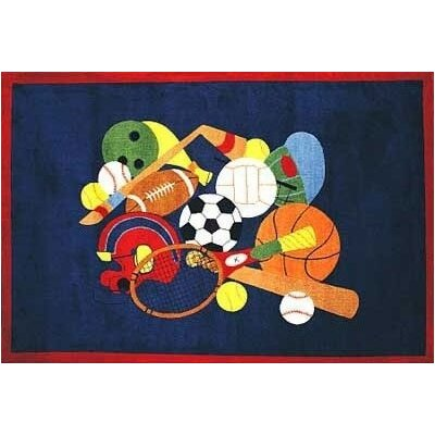 Supreme American Sports Area Rug Rug Size: 33 x 410