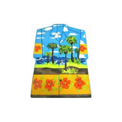 Supreme Hawaiian Shirt Area Rug Rug Size: 33 x 410