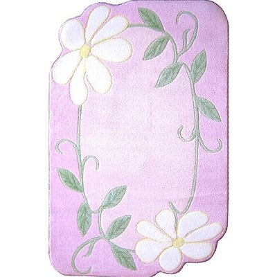 Supreme Daisy Field Pink Area Rug Rug Size: 33 x 410