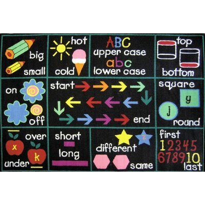 Fun Time Compare Area Rug Rug Size: 53 x 76
