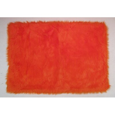 Orange Kids Rug Rug Size: 33 x 410