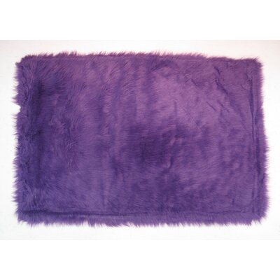 Purple Kids Rug Rug Size: 33 x 410