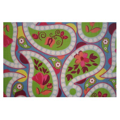 Fun Time Floral Area Rug Rug Size: 33 x 410