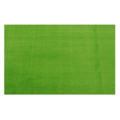 LA Kids Green Area Rug Rug Size: 33 x 410