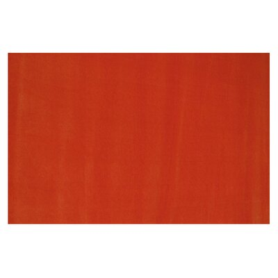 LA Kids Orange Area Rug Rug Size: 33 x 410