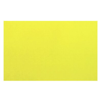 LA Kids Yellow Area Rug Rug Size: 4'3