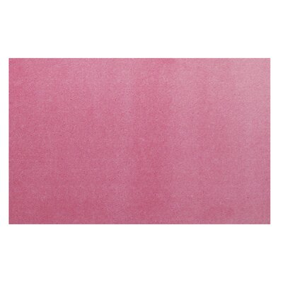 LA Kids Pink Area Rug Rug Size: 33 x 410