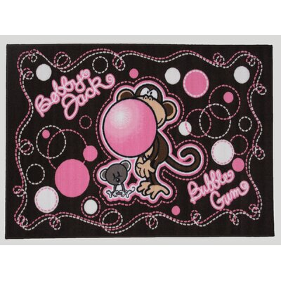 Bobby Jack Dont Burst My Bubble Area Rug Rug Size: 17 x 25