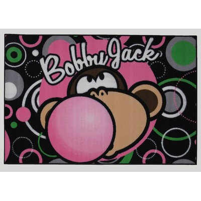 Bobby Jack Bubble Gum Area Rug Rug Size: 33 x 410