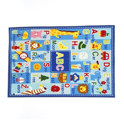 Fun Time Letters and Names Area Rug Rug Size: 33 x 410