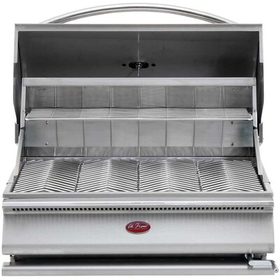 "CalFlame G-Series 31"" Built-In Charcoal Grill"