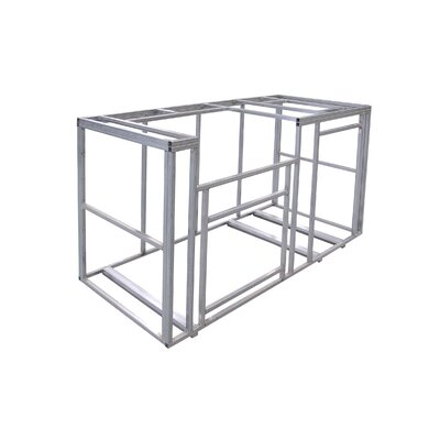 Outdoor Kitchen Island Frame Kit