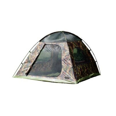 Camo Headquarters 5 Person Tent with Storage Bags