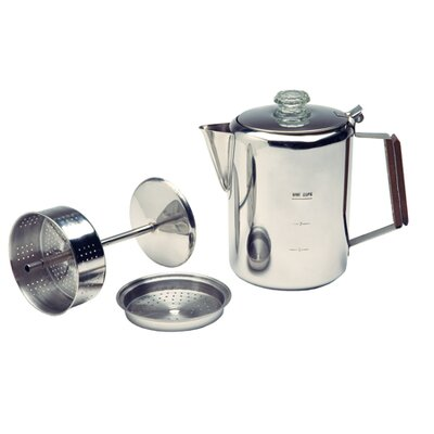9 Cup Stainless Percolator Coffee Maker 13215