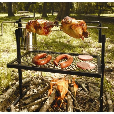 Rotisserie Grill and Spit Camping Cookware 15119
