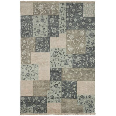 Sonam Hand-Knotted Light Blue Area Rug