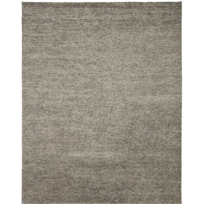 Horizon Hand-Knotted Gray Area Rug Rug Size: 2 x 3