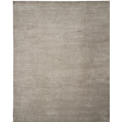 Broadway Hand-Knotted Beige Area Rug Rug Size: 4 x 6