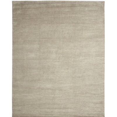 Broadway Hand-Knotted Gray Area Rug Rug Size: 2 x 3