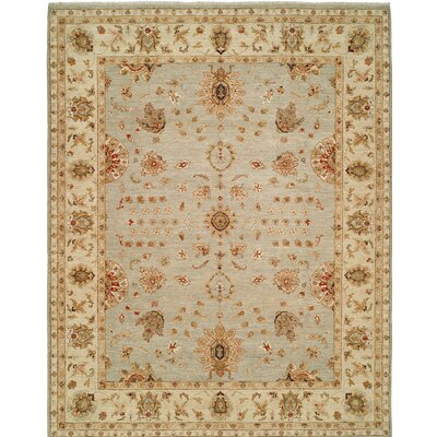 Royal Zeigler Hand-Knotted Beige/Gray Area Rug Rug Size: Runner 26 x 9