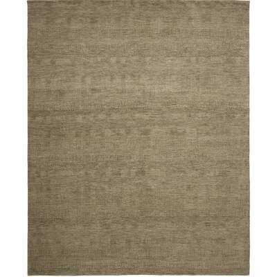 Illusions Hand-Knotted Beige Area Rug Rug Size: 2 x 3