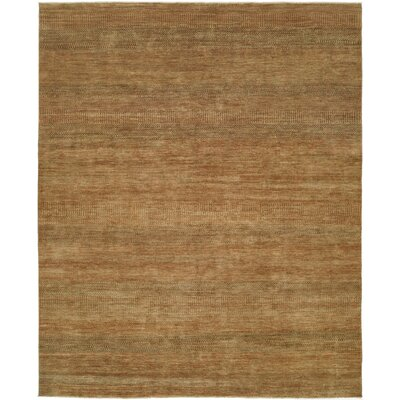 Illusions Gold/Green Area Rug Rug Size: 6 x 9