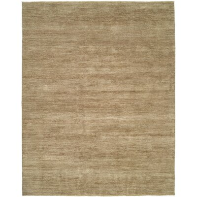 Illusions Grey/Light Brown Area Rug Rug Size: 3 x 5