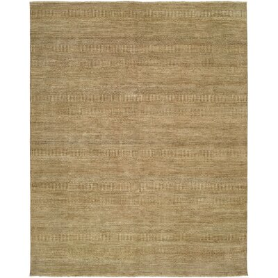 Illusions Gold/Beige Area Rug Rug Size: 4 x 6