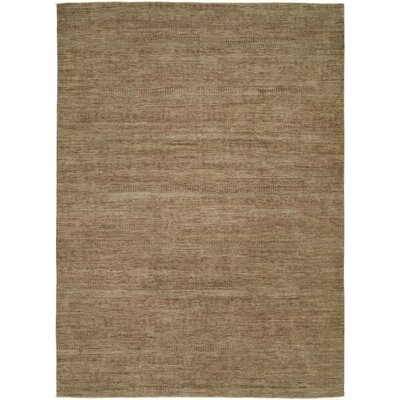 Illusions Light Brown Area Rug Rug Size: 9 x 12