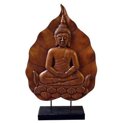 Decorative Wood Buddha On Stand
