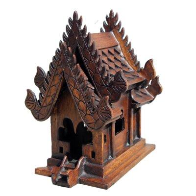 Decorative Teak Spirit House